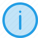about, advice, help, info, information, learn, more icon