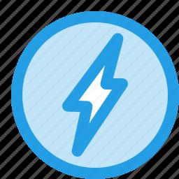 bolt, charge, energy, flash, lightining, power icon