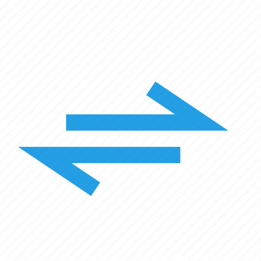 arrow, bidirectional, direction, path, toway icon