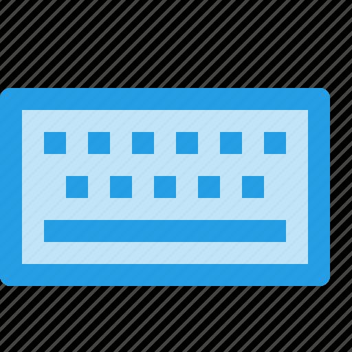device, input, keyboard, outline, virtualinterface icon