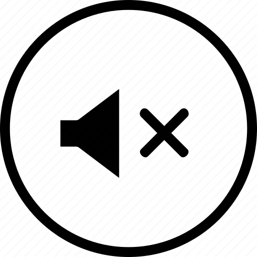 audio, mute, off, slient, sound, volume icon