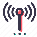 antenna, morenetworks, network, signal, technology, wifi icon