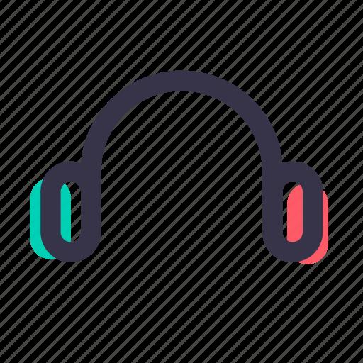 handsfree, headphone, headphones, headset, listening, music, speaker icon