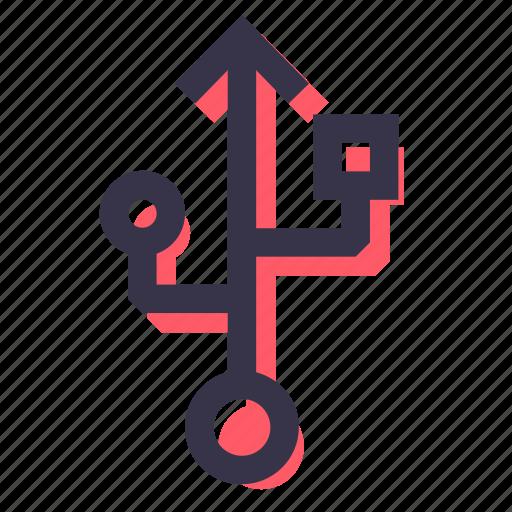 drive, flash, port, sign, storage, usb, usbport icon