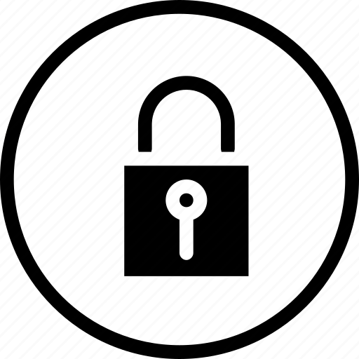 lock, password, privacy, protected, secure, security icon
