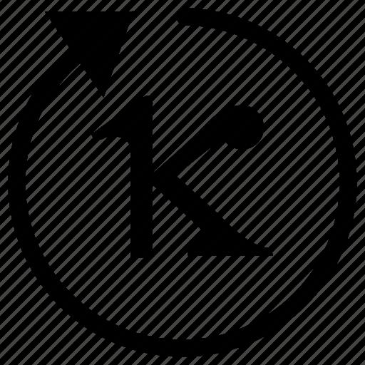 alphabet, geometry, greek, kappa, letter, math icon