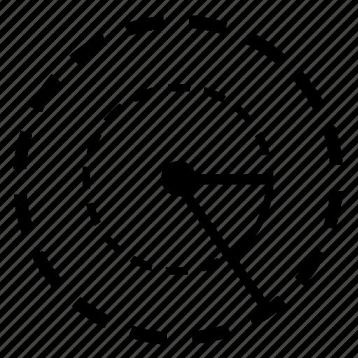 angle, border, circle, geometry, round icon