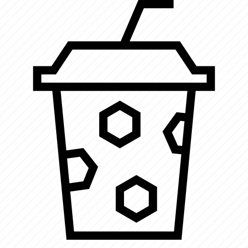 coffee, cup, drink, juice, paper, straw, takeaway icon
