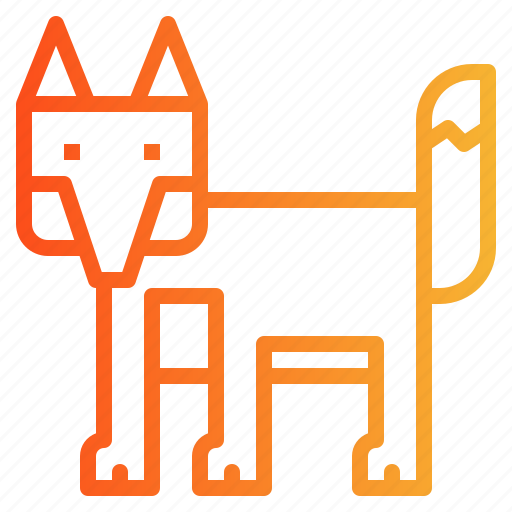 Animal, fox, wildlife, zoo icon - Download on Iconfinder