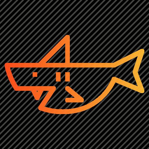 Animal, aquarium, aquatic, shark icon - Download on Iconfinder