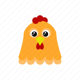 animal, chicken, egg, rooster icon
