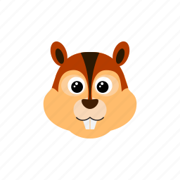 animal, chipmunk, cute, possum, squirrel icon