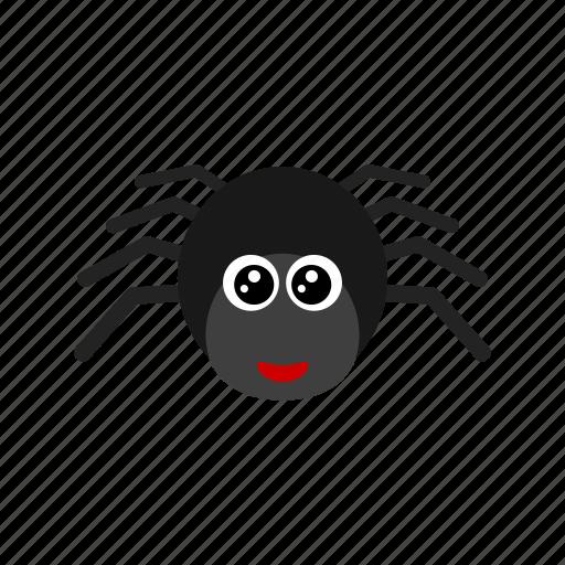 animal, eight, net, spider icon