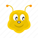bee, bees, fly, honey, honeybee, nature, wing icon