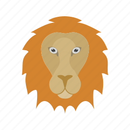 big cat, fast, jungle, king, leopard, lion, strong icon