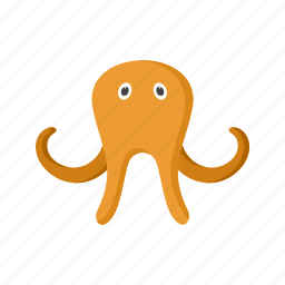 animal, face, nature, octopus, sea, underwater, water icon