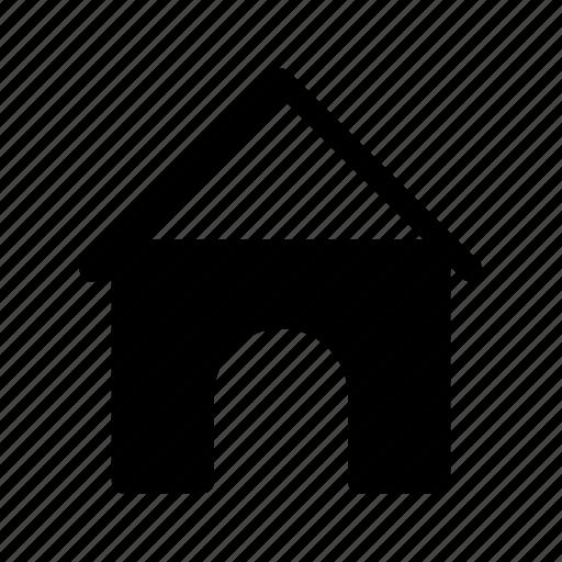 animal, dog, dog home, dog house, doghouse, pet icon