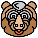 animal, baboon, monkey, primate, safari icon