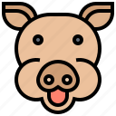 cattle, livestock, mammal, pig, pork icon