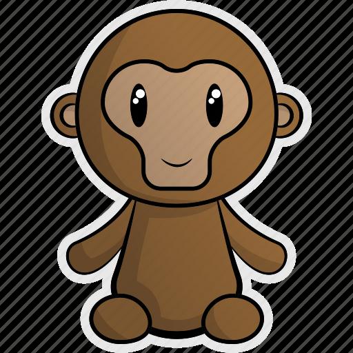 africa, animal, animals, jungle, monkey, nature, zoo icon