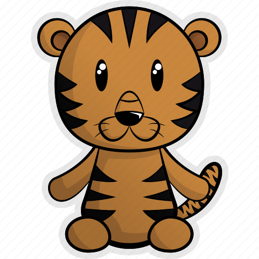 africa, animal, animals, forest, jungle, nature, tiger icon