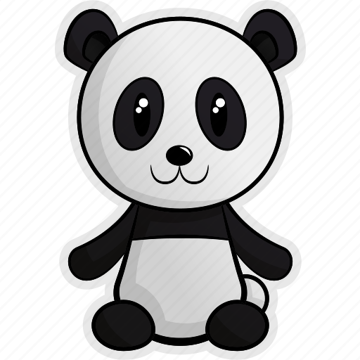 africa, animal, animals, forest, jungle, panda, pet icon