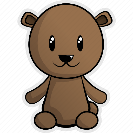 animal, animals, bear, cute, forest, jungle, nature icon