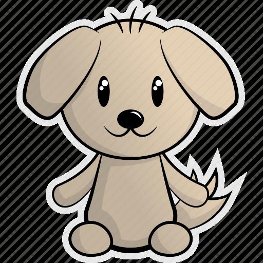 animal, animals, dog, domestic, pet, pup, puppy icon
