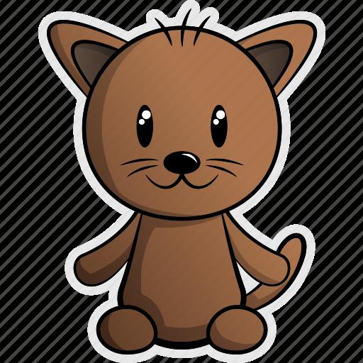 animal, animals, cat, feline, house, kitty, pet icon