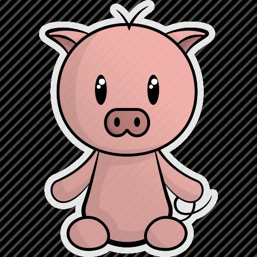 animal, animals, cute, farm, nature, pet, pig icon