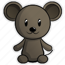 animal, animals, forest, jungle, mouse, pet, rat icon