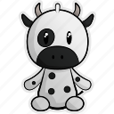 animal, animals, cheese, cow, farm, milk, pet icon