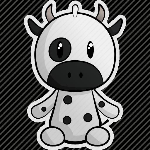 animal, animals, cheese, cow, farm, milk, pet icon