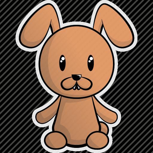 animal, animals, cute, farm, forest, pet, rabbit icon