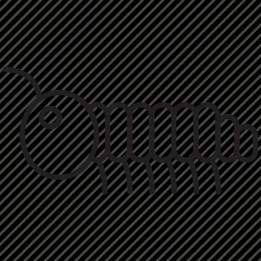 Caterpillar, grub, larva, nymph, parasite, slug, worm icon - Download on Iconfinder