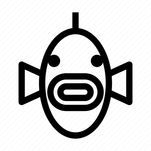 Animal, aquatic, fish, fish face, water animal icon - Download on Iconfinder