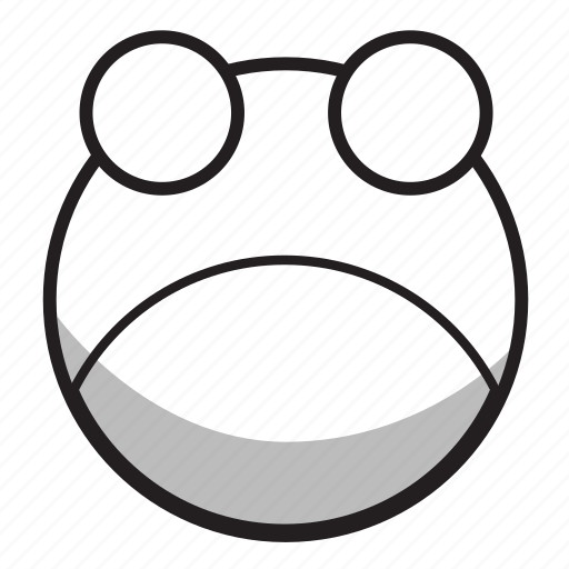 animal, forest, frog, nature, outline icon