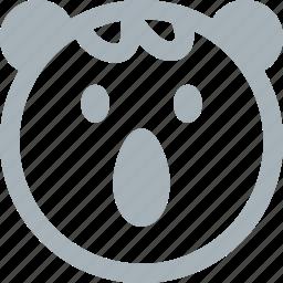 animal, animals, koala, line animal, nature, zoo icon