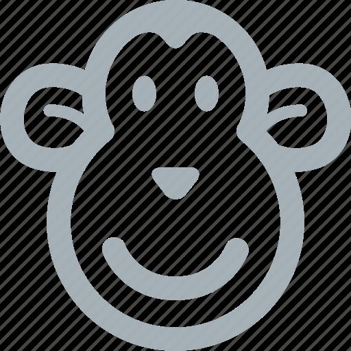 animal, animals, monkey, monkeys, safari, zoo icon
