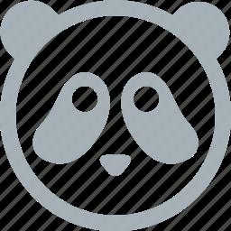 animal, animals, panda, pandas, zoo icon
