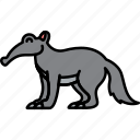 animal, ant, anteater, easter icon