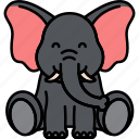 elephant, animal, zoo, dumbo