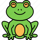 frog, toad, animal, froggy