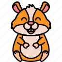 animal, hamster, pet, rodent icon