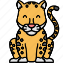 animal, big, cat, jaguar icon