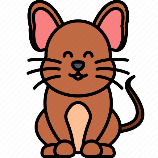 Animal, mouse, rodent, brown icon - Download on Iconfinder