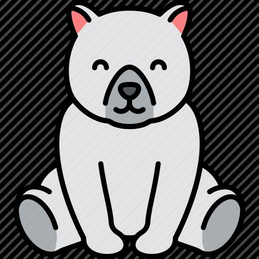 Animal, bear, polar, arctic icon - Download on Iconfinder