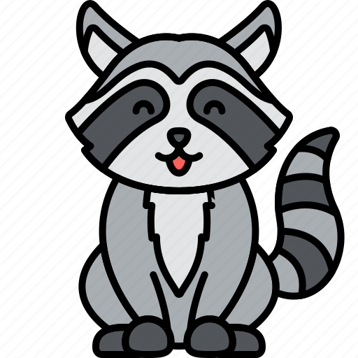 Animal, raccoon, nature, racoon icon - Download on Iconfinder