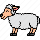 animal, lamb, sheep, wool icon