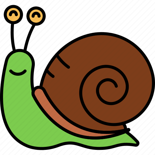Shell, slow, snail, animal icon - Download on Iconfinder